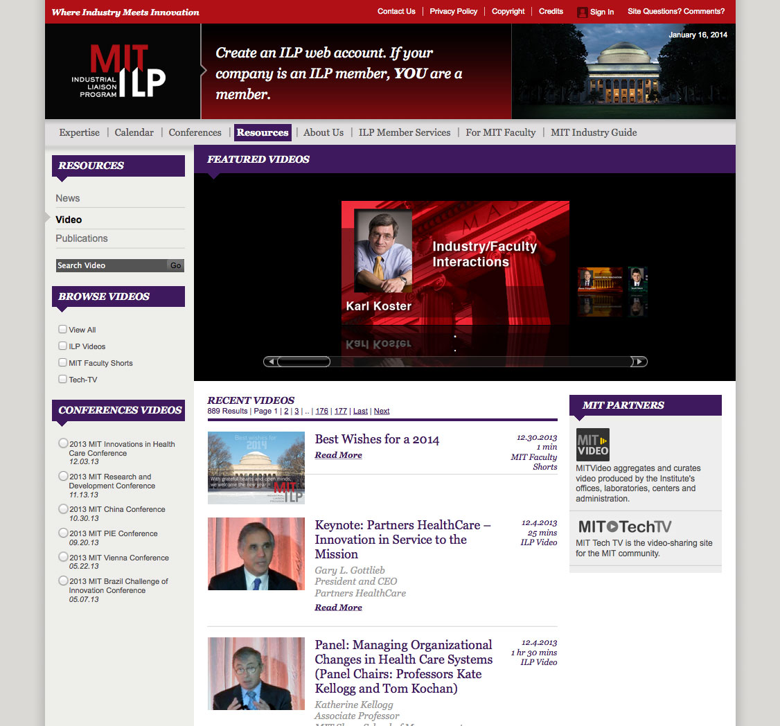ilp video page